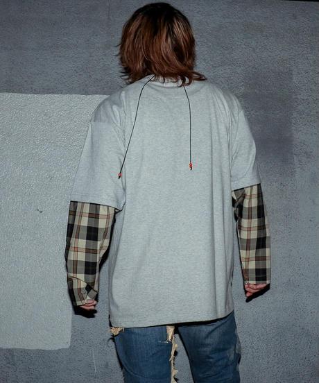 ドッキングロングスリーブTシャツ(COLOR B)