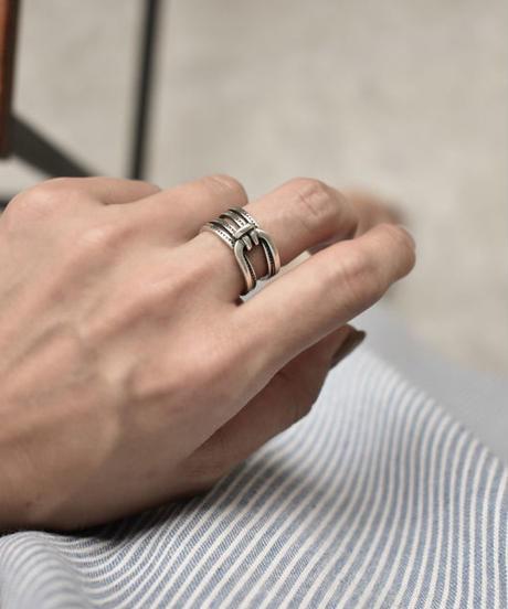 mb-ring2-02086 SV925 ノットデザインリング シルバー925