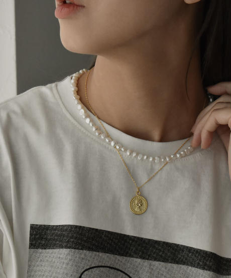 mb-necklace2-02053 バロック小粒 淡水パール ネックレス