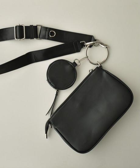 bag2-02577 リングマルチバッグ ブラック