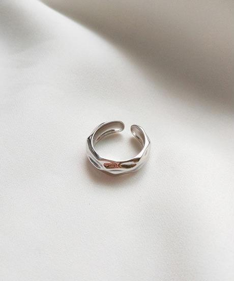 mb-ring2-02034 SV925 ハンマードデザインリング  シルバー925