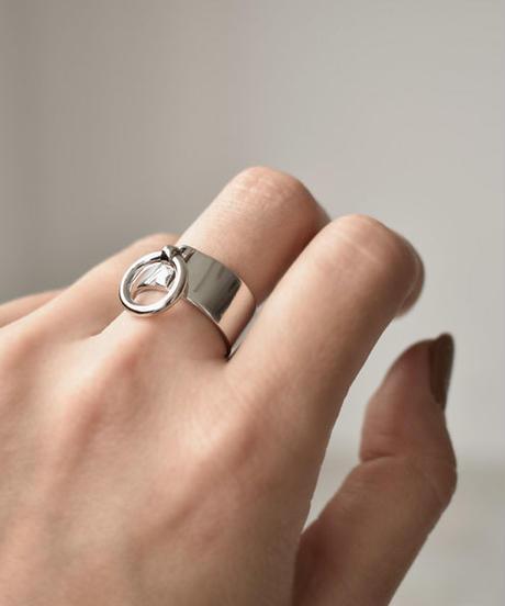 mb-ring2-02085 SV925 リングデザインワイドリング シルバー925