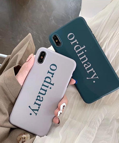 mb-iphone-02545 ordinary グレー グリーン iPhoneケース