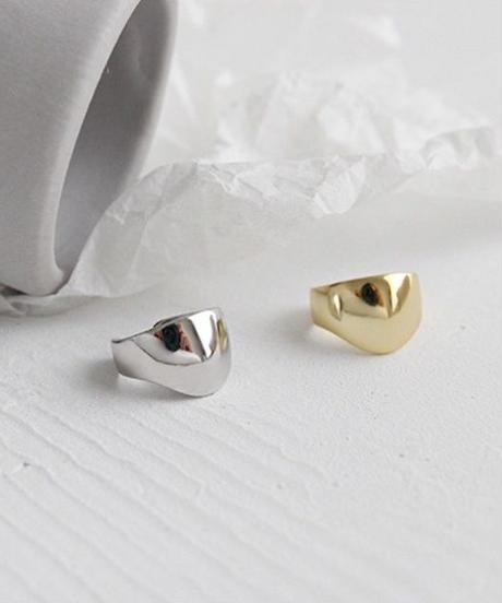 mb-earcuff-02005 SV925 イヤーカフ 大小同色2個セット シルバー925 シルバー ゴールド