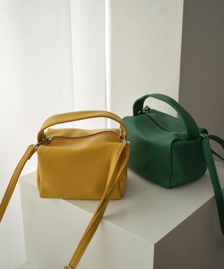 5月中旬から5月下旬入荷分 予約販売 bag2-02574 ミニボックス ショルダーバッグ グリーン イエロー