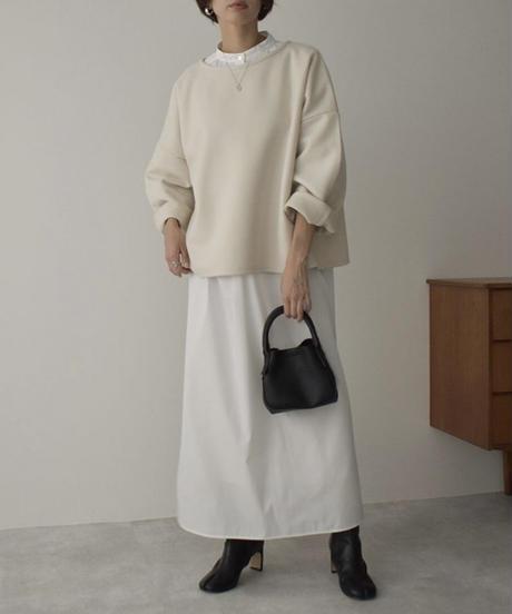 ホワイトのみ11月中旬入荷分 予約販売 onepiece-04043 日本製 ボリュームスリーブ カフタンドレス ホワイト ベージュ カーキ
