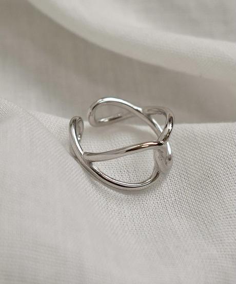 mb-ring2-02051 SV925 インフィニティ モチーフリング シルバー925
