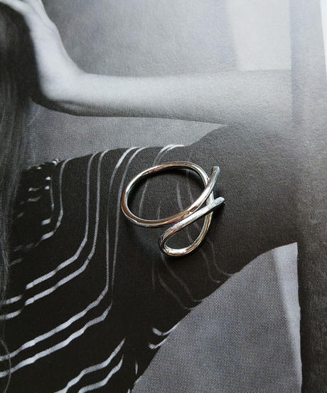mb-ring2-02017 SV925 シンプルベンドラインリング シルバー925リング