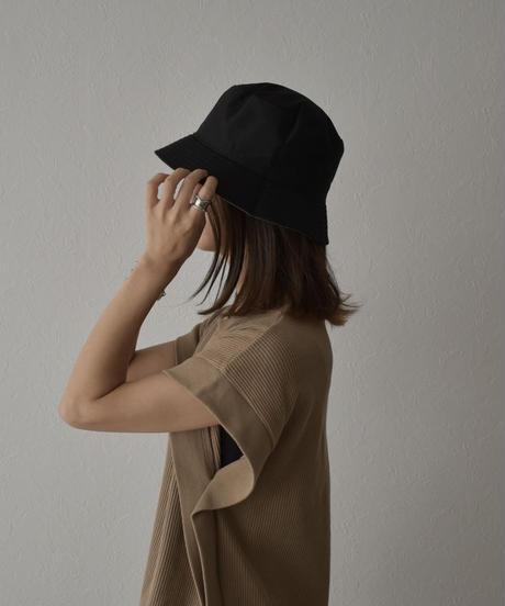 nh-cap-02030 リバーシブル  バケットハット タイダイ染め × ブラック