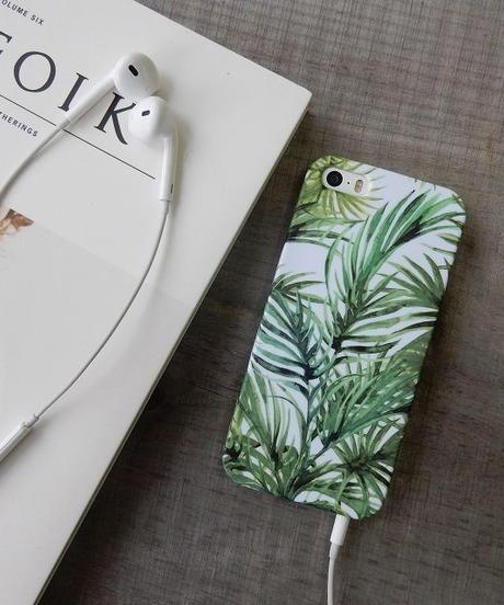 mb-iphone-02157 リーフデザイン 葉っぱ iPhoneケース