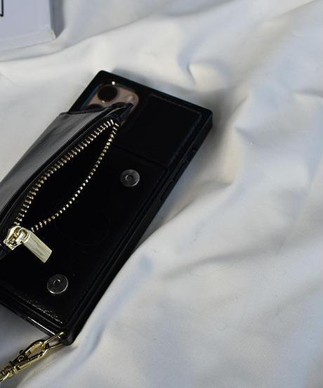 nh-iphone-02593 ショルダー付き スクエア  iPhoneケース