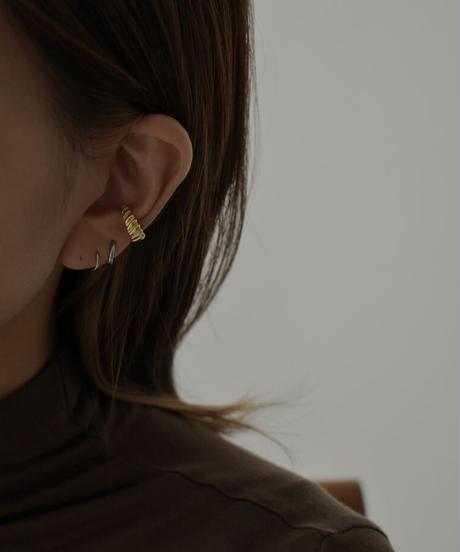 mb-earcuff-02014 SV925 スパイラル イヤーカフ シルバー925  ゴールド