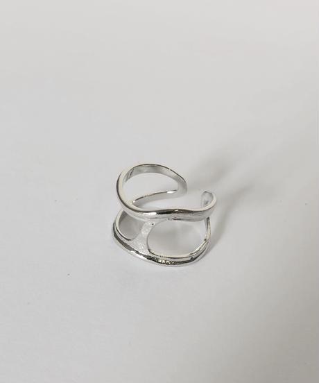 mb-ring-05002-SV CUT WAVE リング シルバー