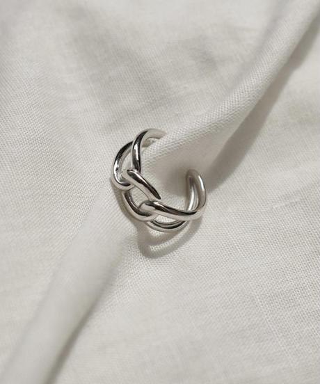 mb-ring2-02082 SV925 シングルチェーンリング シルバー925