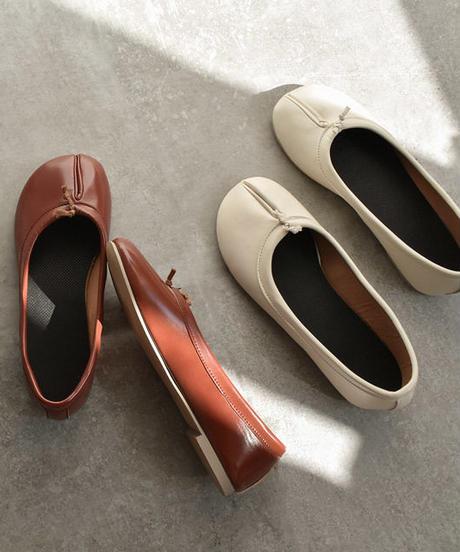 shoes-02050 足袋バレエシューズ フラットパンプス