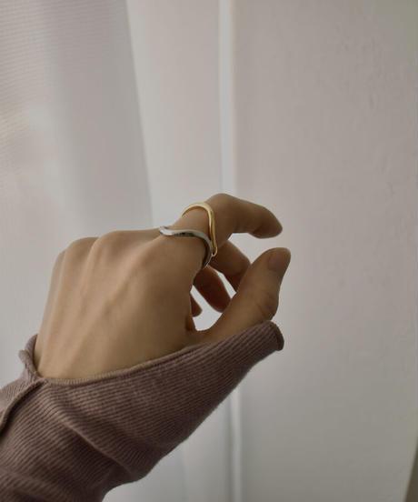 nh-earcuff-02029 バイカラーニュアンスウェーブ イヤカフ
