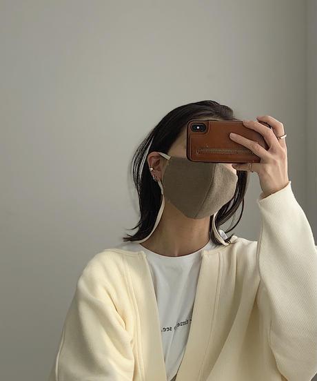 mb-mask-04002 日本製 バイカラー ネックストラップ マスク