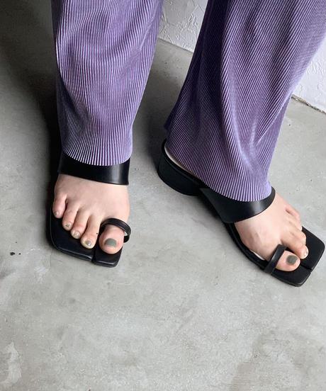 shoes-02104 足袋ソール ヒールサンダル  ブラック ホワイト