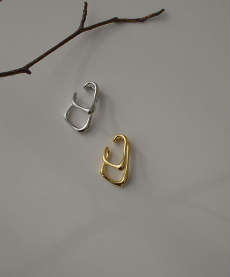 mb-earcuff-02021 SV925 ボーンモチーフ イヤーカフ シルバー925 ゴールド