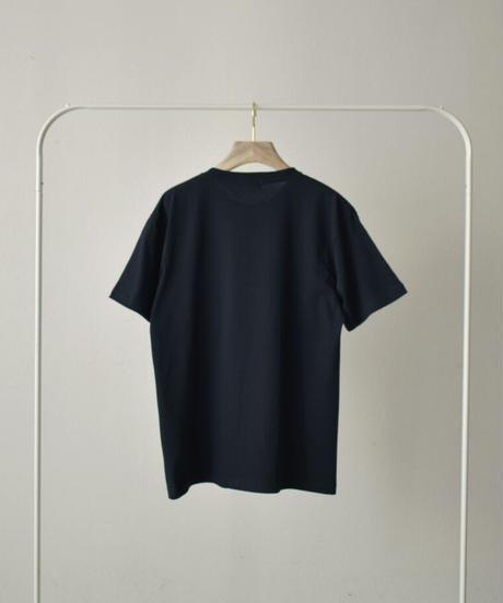 nh-tops-02226 クルーネック メッセージオーバーTee レッド グリーン ネイビー ブラック