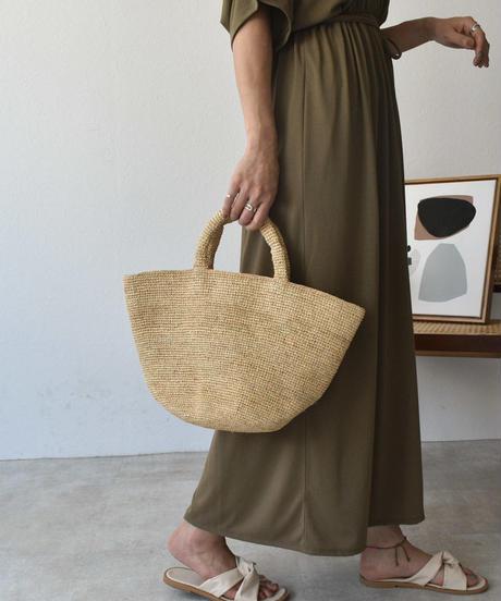 bag2-02504 ラフィア  かごトートバッグ