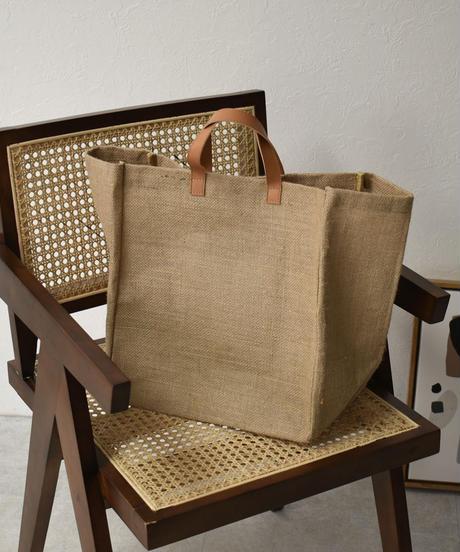 bag2-02513 ジュート(麻)  ショッピングバッグ エコバッグ
