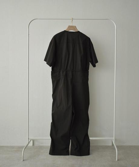 8月上旬から8月中旬入荷分 予約販売 onepiece-02032 ノーカラージャンプスーツ ブラック