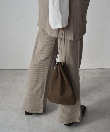 nh-leather-09006 日本製 レザー巾着