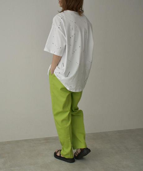 nh-tops-02241 BK DRIPPING  Tシャツ ホワイト