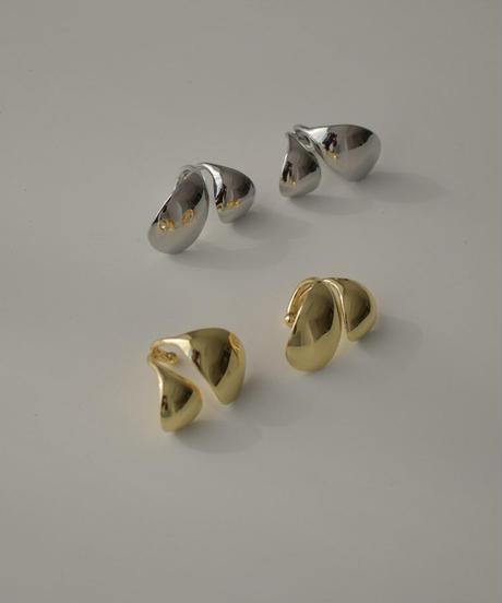 mb-earcuff-02019 コンビオーバル イヤーカフ シルバー ゴールド