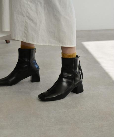 mb-socks-02001 ウール混 リブソックス オフホワイト キナリ グレー モカ レンガ マスタード ブラック