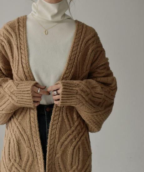 knit-02109  ウール100  タートルネック ニット ホワイト グレージュ モカ オレンジ ブラック