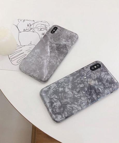 mb- iphone-02554 ブラック シェル風 iPhoneケース