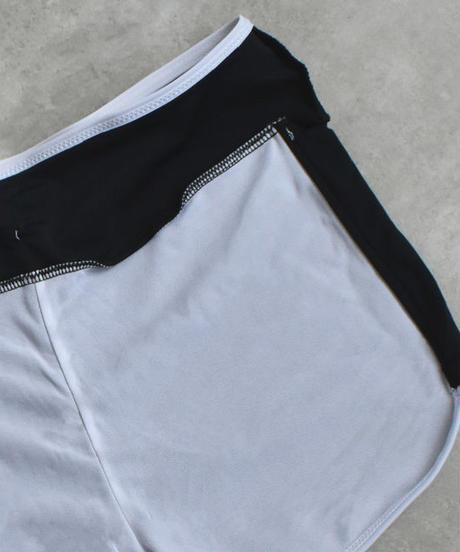 swim-02225 ショートパンツ タンクトップタイプ ブラック 水着