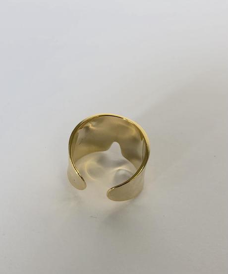 mb-ring-05003-G WIDE V CUT リング ゴールド