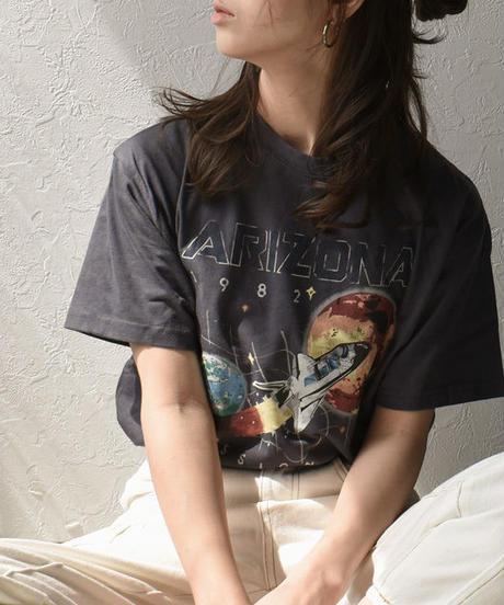 nh-tops-02067 80'Sヴィンテージライク プリントTシャツ