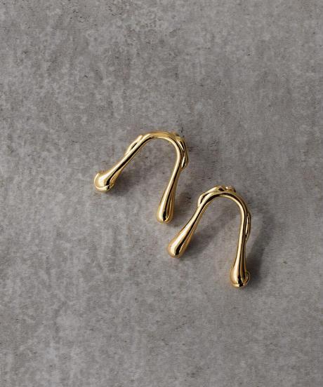 nh-pierce2-02426 Drooping ピアス ゴールド