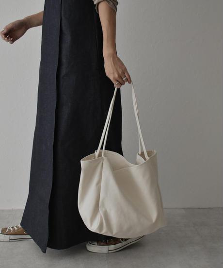 bag2-02517 キャンバス ビッグトート エクリュ モカ ブラック