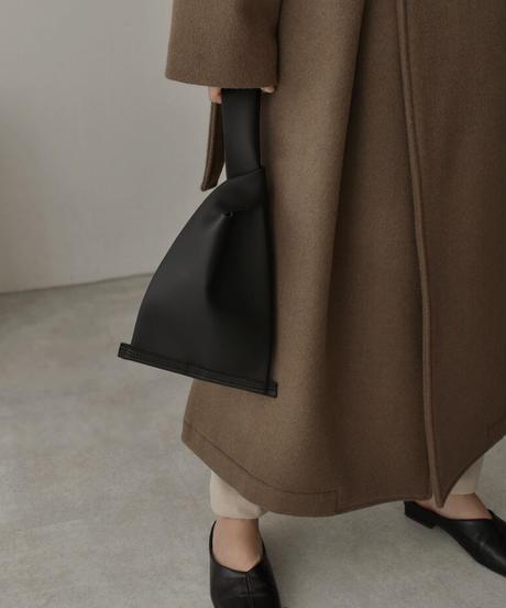 bag2-02520 スクエア ワンハンドル バッグ ホワイト ベージュ ブラック