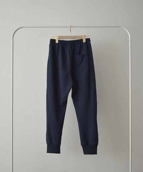 bottoms-02112 スウェットジョガーパンツ グレー ネイビー ブラック