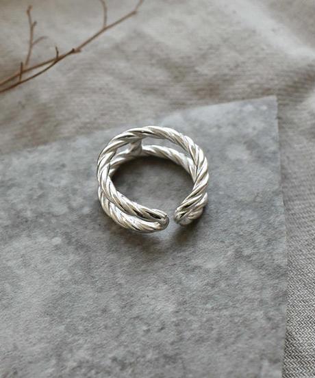 mb-ring2-02059 SV925 ロープデザインリング シルバー925