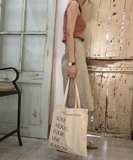 nh-bag2-02279 TOUT ARRIVE POUR UNE RAISON Tote Bag トートバッグ エコバッグ