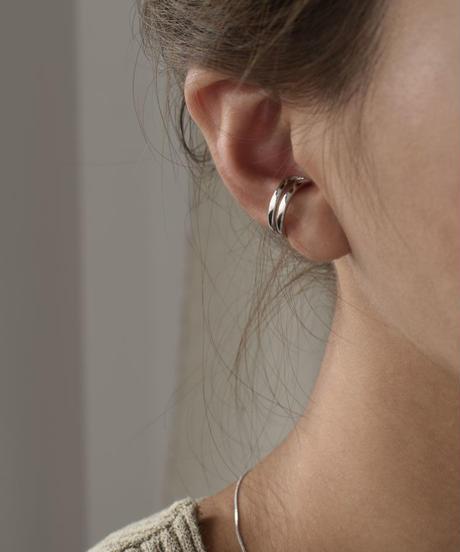 mb-earcuff-02011 SV925 ツーライン イヤーカフ シルバー925