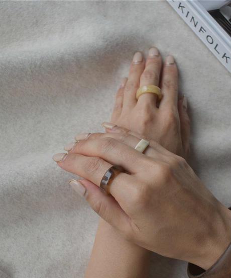 mb-ring2-02093 マーブル柄リング 3個セット