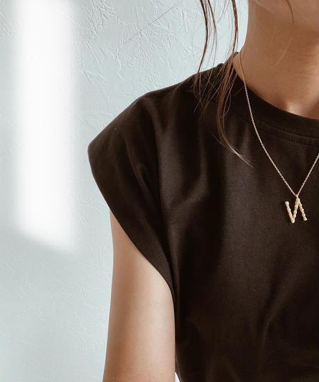 mb-necklace2-02035 Gold plating SV925 イニシャルネックレス シルバー925 BOX付き
