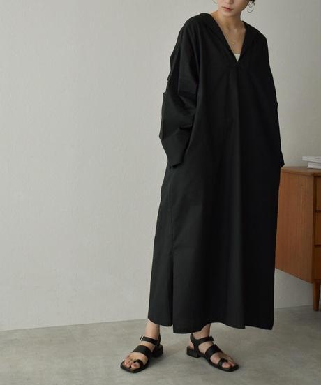 onepiece-04048 日本製 コットン セーラーカラー ワンピース ホワイト ネイビー ブラック