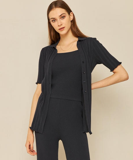 chill time knit square camisole