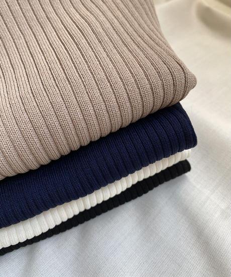 Back twist rib knit