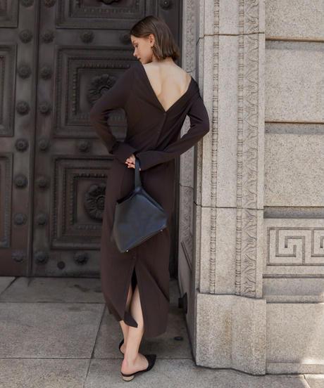 2way comfort slim dress