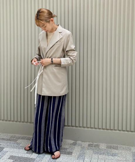 Belt mark tailor jacket